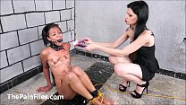 latina masochist pollys extreme lesbian bdsm and hardcore whipping of spanked so
