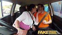 Fake Driving School Busty curvy learners horny ... Thumbnail