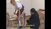 Sexy student blonde punished in bondage by her ...