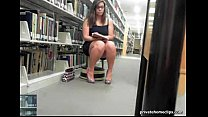 cute library girl