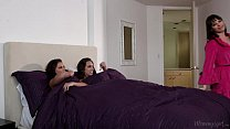 step sisters adriana chechik and jade nile licking each other