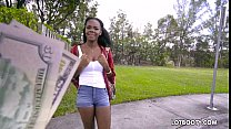 Ebony big ass teen Haylee Wynters gets interrac...