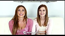MyVeryFirstTime - Alaina Dawson tries her first threesome with sexy Christiana C