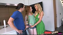 Big boobs milf Brandi Love and teen slut nasty ...