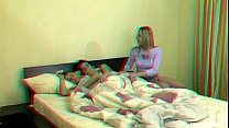 This young couple were sleeping in late when th...