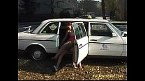 taxi diver fucks teen anal in public