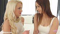 Taylor Sands and sexy Anastasia Blond enjoying eachother on Sapphic Erotica