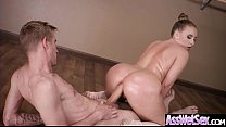Anal Sex Tape With Hot Oiled Sexy Huge Butt Gir...