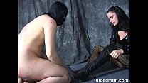 Slave is denied of his orgasm after an unwanted...