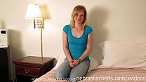 seedy hotel room first time amateur blonde hott...