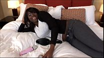 Big Boob ebony teen slut bounces on a cock in Big Ass Tits Video