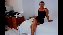 haired milf fucks bbc then a girl with a strapon