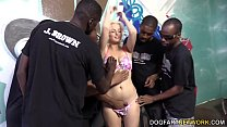 Jenna Ivory Serves A Gang Of Black Men With Her... Thumbnail