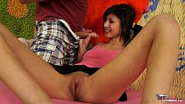 Czech asian super hot babe Monika rock stepbrot...