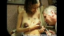 Lactation fetish freaks love puffy nipples
