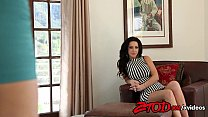 Jayden Cole and Jayden Jaymes Eating Red