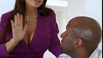 Sissy cuckold husband watches wife with BBC par... Thumbnail