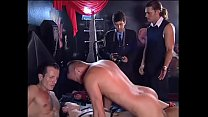 An unleashed girl is slammed by two guys # 12