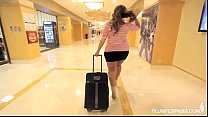 Lusty Curvy Latina Sofia Rose Gets Massage from Hotel Stud