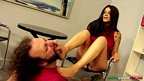 The Pupil Ep1 Part 4 -Barefoot Licking thumb
