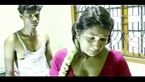 Young Boy And Hot Sexy Lady Romance on The Bed Thumbnail