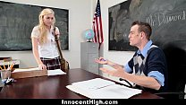 InnocentHigh - Blonde Schoolgirl Fucked Hard By...