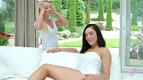 amber deen and jenny saphire in lesson in love lesbians by sapphix