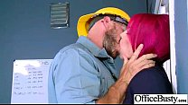 (anna bell peaks) Nasty Office Girl Like Hard S...