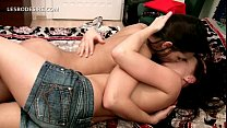 hot naked lesbians making out passionately in bed