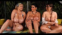 Angelina Castro OutDoors Oily ThreeSome and Sex...)