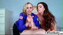 hard sex in office with naughty hot bigtits girl alison tyler and julia ann mov 01