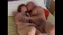 Sexy mature red head Sasha is a squirter