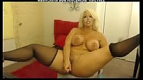 Big Boobs Curvy Blonde MILF Plays With Toys Thumbnail