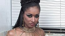 Skin Diamond On The Porn Set