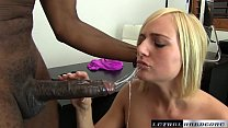 Black Cocks Matter - Teen Kate England rides he...