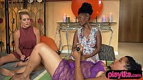 Sexy chicks explores sexual fantasies fetishes ...