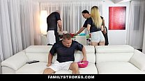 FamilyStrokes - Teens Fucks Pervy Uncle During ... Thumbnail
