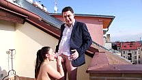 mesmeratrix s husband andrea dipre make sex with a nice girl in prague 2016