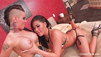 Christy Mack & London Keyes Threesome Fuck