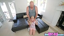 Jmac plow Aubrey Maries stretched twat on the c... Thumbnail