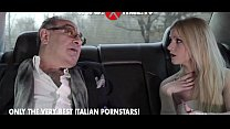 Rossella Visconti banged in a limousine thumb