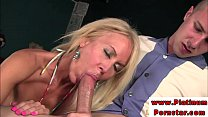 Erica Lauren riding on dick Thumbnail