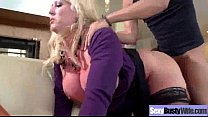 Big Melon Juggs Mommy Fucked Hard On Tape clip-04