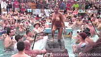 dantes pool wet tshirt pole contest during fant...
