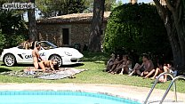 Mallorca special threesome with spanish & UK guys by the pool