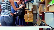Asian MILF mom saves her teen offspring from th... Thumbnail