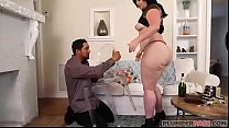 Big Booty MI LF Virgo Brings in New Years With Bottle In Her Ass