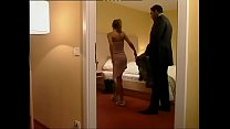 Dirty wife cheating on her husband with a black...