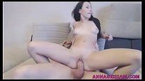 Smoking and riding a cock! She is a multitaskin...