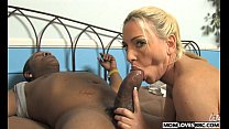 Mom Cala Craves fucks with a BBC in front of he...